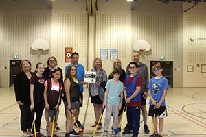 La Ville de Sainte-Julie et l'école du Moulin implantent un programme de golf en milieu scolaire