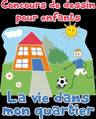 Concours de dessin pour enfants « La vie dans mon quartier »