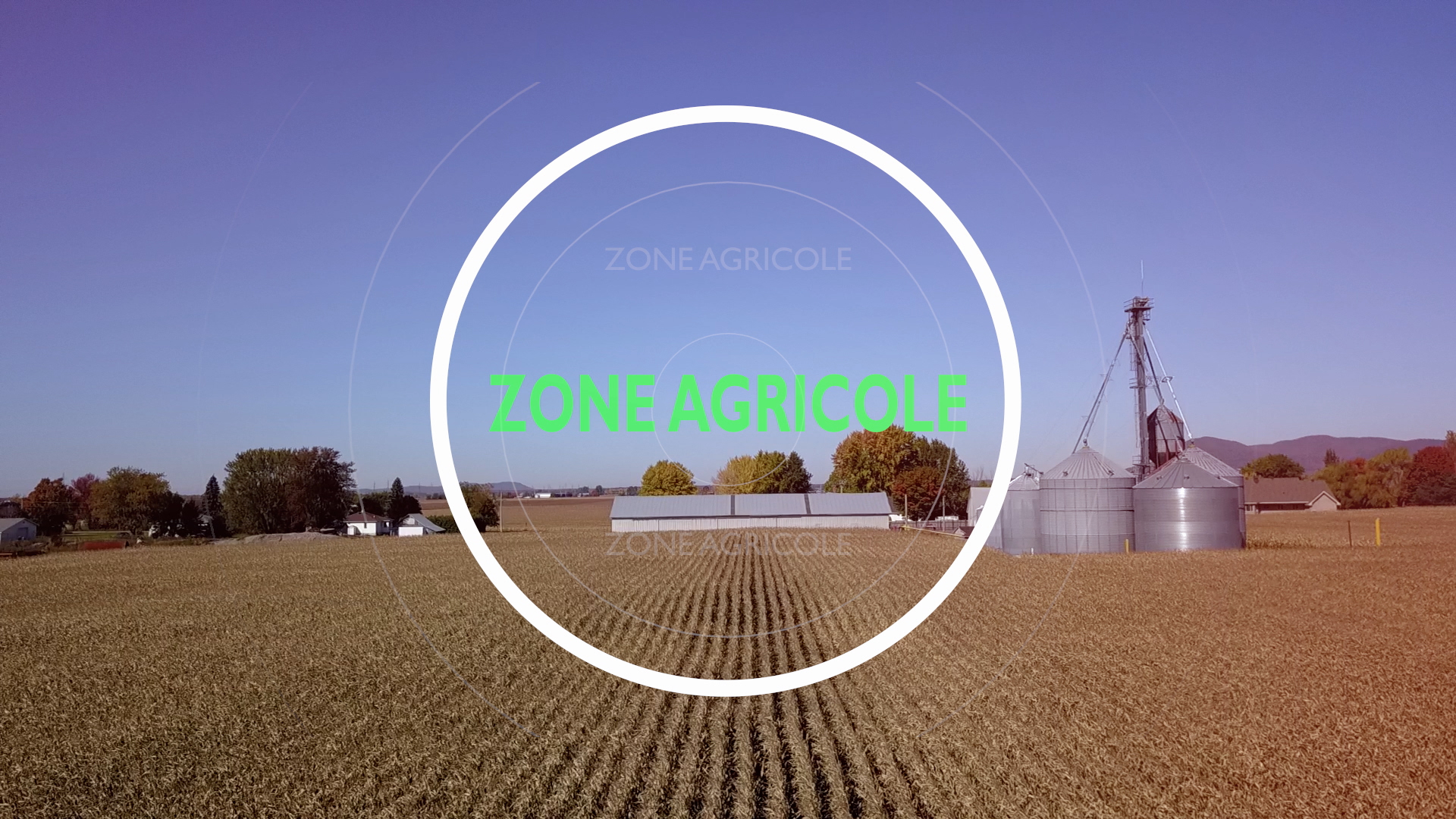 Zone agricole