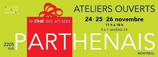 Ateliers ouverts au Chat des artistes