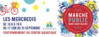 Des nouveautés pour le marché public de la Ville de Mont-Saint-Hilaire