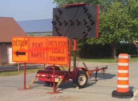 Devancement des travaux au pont Lacaille à Saint-Jean-Baptiste Les efforts du député et de la municipalité portent fruit