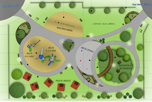 Un premier parc familial confirmé pour les résidents du secteur Carignan-Salières