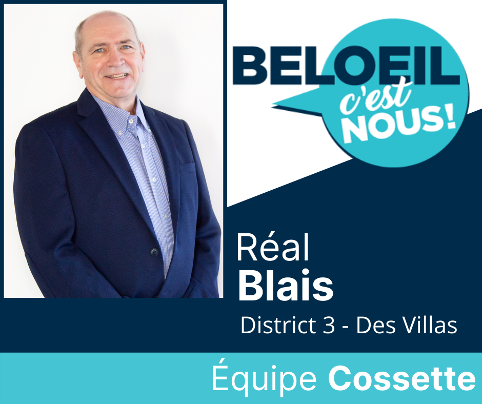 Un deuxième candidat de l'équipe BELOEIL C'EST NOUS!