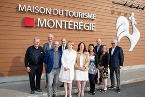 EXCELLENT BILAN TOURISTIQUE 2017 POUR LA MONTÉRÉGIE ET ÉLECTION DU NOUVEAU CONSEIL D'ADMINISTRATION POUR 2018
