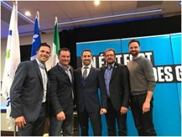 Investiture au Parti Québécois : Borduas choisit Cédric Gagnon-Ducharme.
