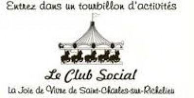 Activité du mois de novembre Club Social la Joie de Vivre de Saint-Charles-Sur-Richelieu.