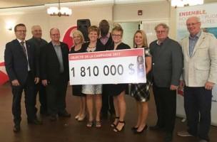 Centraide Richelieu-Yamaska vise 1 810 000 $ pour changer des vies