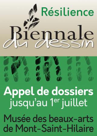 Appel de dossiers Biennale du dessin 2021 - Résilience