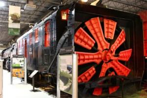 De fer et de glace, les trains en hiver